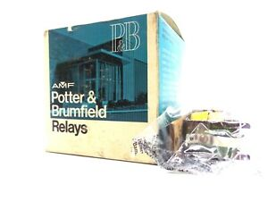 New Potter Brumfield Spdt 5a Relay Coil
