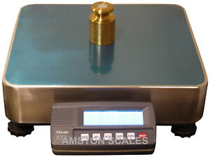 High Capacity Large 14x12 Digital Balance Scale 30000 X 0 1 Gram Counting Bench