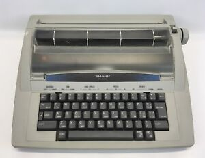 Sharp Electric Electronic Typewriter Model Pa 4000 Tested And Working