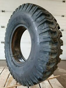 Set Of 5 Off Road Tires 11 00 20 Goodyear Xtra Grip Tr 80 6