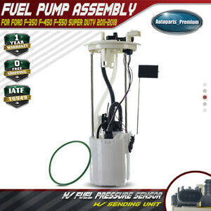 Electric Fuel Pump Module Assembly For Ford F59 F 350 F 550 Super Duty 2011 2018