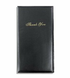 20 Presenter Book Guest Check Credit Card Holder Bill Receipt Restaurant Folder