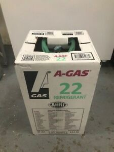 R 22 Refrigerant Sealed 30 Lb Cylinder Free Shipping