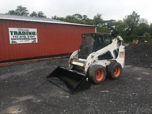2009 Bobcat S185 Skid Steer Loader With Cab