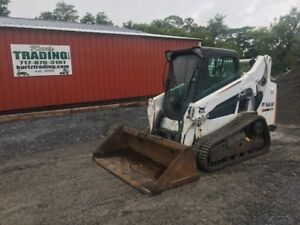 2014 Bobcat T590 Tracked Skid Steer Loader With Cab