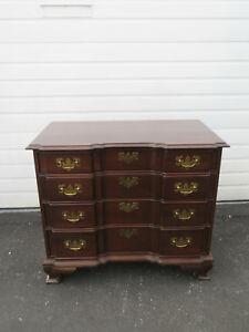 Ethan Allen Vintage Solid Cherry Small Dresser Large Nightstand 8913
