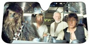 Star Wars Millennium Falcon Car Truck Universal Windshield Accordion Sun Shade