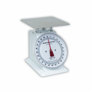 Detecto T5 t 5 Top Loading Large Dial Scale 5lb Capacity