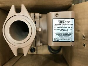 New Taco 2400 30s 3p Stainless Steel Series Circulator Pump 1 6 Hp
