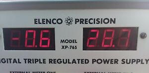 Elenco Precision Digital Triple Regulated Power Supply Model Xp 760