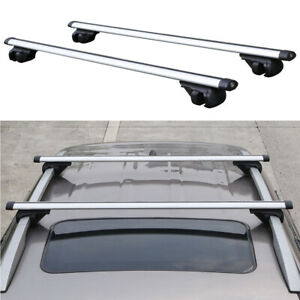 53 135cm Aluminium Roof Rack Car Top Cross Bars Luggage Cargo Carrier Universal