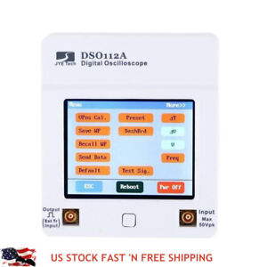 Dso112a Handheld Pocket Digital Storage Oscilloscope Tft Lcd Touch Screen W Bat