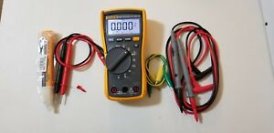 Used Fluke 115 Trms Multimeter With Accessories Sn 18960814 Tp 224199