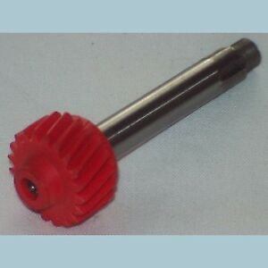 New Speedometer Pinion Drive Gear Mgb 1975 1980 With Overdrive Red 20 Teeth