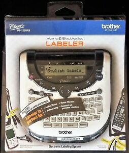 Brother P touch Pt 1290rs Home Electronics Labeler New sealed Free Shipping