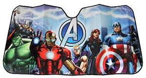 Marvel Avengers Car Truck Suv Front Universal Windshield Accordion Sun Shade New