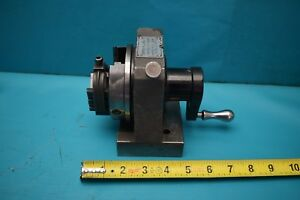 Used Harig Grind all No 1 Spin Indexing Fixture With V Block
