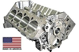 World Products 084020 Motown Cast Iron Small Block Chevy 350 4 120 Bore 4 Bolt