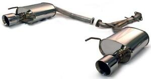 Tanabe Medallion Touring Dual Muffler Rear Section Exhaust 06 06 Gs300