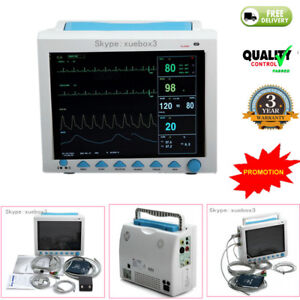 Portable Multi parameter Vital Signs Patient Monitor Icu ccu Machine 2018 Newest