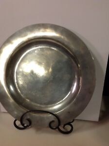 Pewter Charger George The Third 18th Century