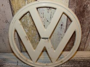 Unique Very Rare Original Authentic Volkswagen T1 Bulli Bus Front Emblem 1960 s