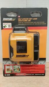 Johnson Self leveling 360 Laser With Plumb Line