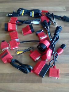 Snap Red Adapter Set For Scanners Solus Pro Ethos Mt2000 Modis Ect