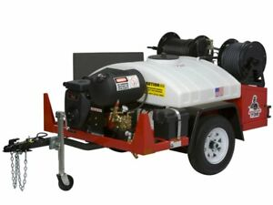 Spartan Tool 738 Hydro Jet Sewer Jetter Drain Cleaning Machine 12 Gpm 2000 Psi