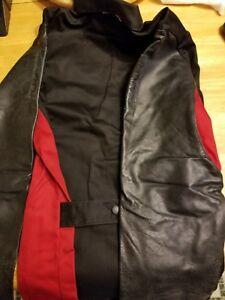 Lincoln Welding Jacket Leather Sleeved Large