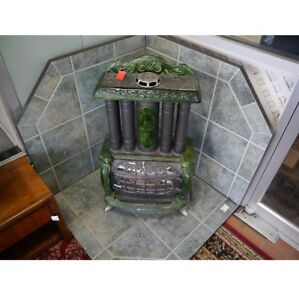 Hamilton Triple Effect Gas Stove With Tile Surround Free Shipping