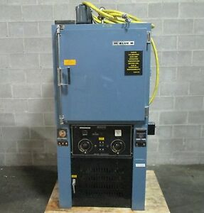 Blue M Pom 19vc 2x Industrial Lab Vacuum Oven 200 c 392 f 240v 1 Ph Used