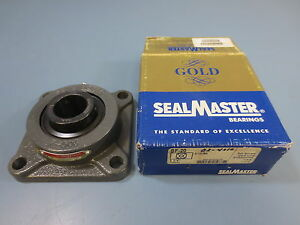 1 Nib Sealmaster Sf 20 Flange Ball Bearing 1 1 4 Inch Sf20