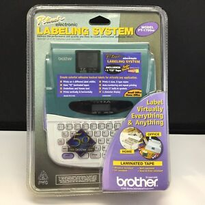 Brother P touch Pt 1700se Label Printer electronic Labeling System Maker