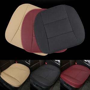 3d Pu Leather Deluxe Car Seat Cover Front Seat Chair Cushion Protector Universal