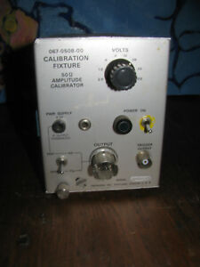 Tektronix Calibration Fixture 067 0508 00 50ohm Amplitude Calibrator Tested