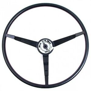 1965 1966 Ford Mustang Black Steering Wheel