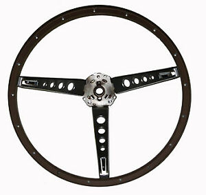 1965 1966 Ford Mustang Wood Steering Wheel