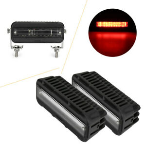 Car Led Red blue Cree Forklift Safety Light Zone Warehouse Pedestrian Warning