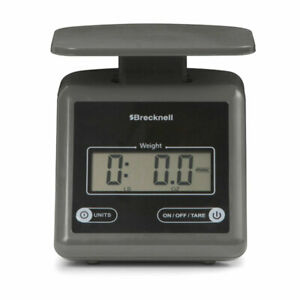 Brecknell Ps7 7 Lb 3 2 Kg Electronic Postal Scale gray