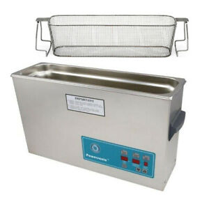 Crest P1200d 132 Ultrasonic Cleaner W Power Control mesh Basket