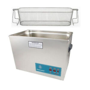 Crest P2600d 132 Ultrasonic Cleaner W Power Control perf Basket