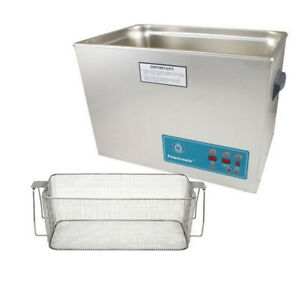 Crest P2600d 132 Ultrasonic Cleaner W Power Control mesh Basket