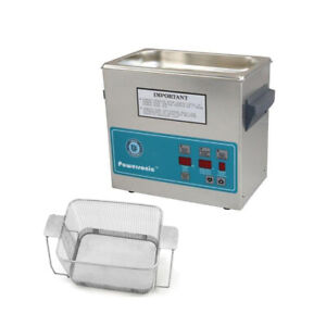 Crest P230d 45 Ultrasonic Cleaner W Power Control perf Basket