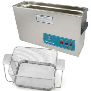 Crest P1200d 132 Ultrasonic Cleaner W Power Control perf Basket