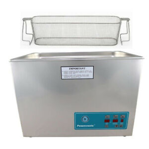 Crest P1800d 132 Ultrasonic Cleaner W Power Control perf Basket