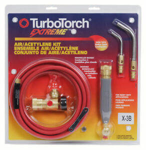 Victor Turbotorch X 3b Torch Kit Swirl 0386 0335 For B Tank Air Acetylene