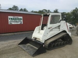 2008 Terex Pt70 Tracked Skid Steer Loader