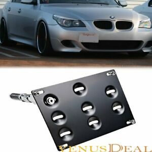 For Bmw 1 3 5 6 X Z M Series Front Bumper Tow Hook License Plate Bracket Holder