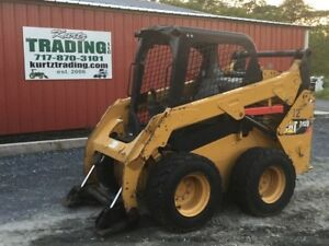 2014 Caterpillar 242d Skid Steer Loader Unit Needs Repair